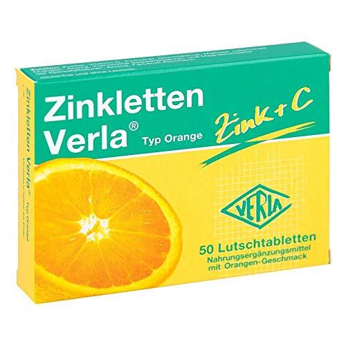 Zinkletten Verla Typ Orange Tabletten, 50 St. Tabletten