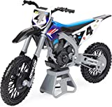 Supercross, Authentic Ricky Carmichael 1:10 Scale Collector Die-Cast Motorcycle Replica with Display Stand