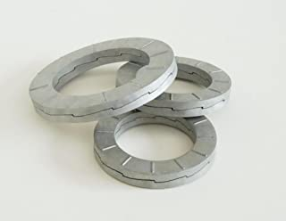 200 pk. 8mm x 16 mm OD Stainless Steel Plain Finish Wedge Lock Washers