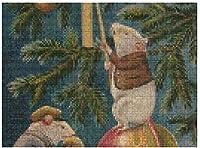 新しいJSCTWCLクリスマスマウスクロスステッチパズル500ピース木製大人のジグソーパズル色子供のための抽象絵画パズル教育玩具ギフト