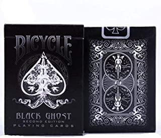 Ellusionist Black Ghost Deck Bicycle Second Edition Playing Cards Magic Tricks Magic Poker Card Magic Toy