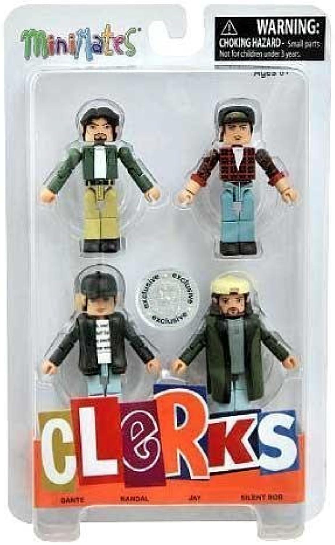 Clerks 20th Anniversary Minimates Minifigure 4Pack Clerks 20th Anniversary Box Set [Exclusive] by Walking Dead