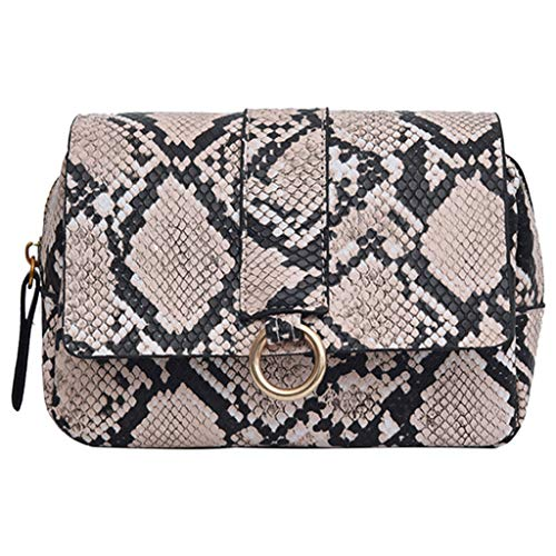Likecrazy Crossbody Bag Tasche Damen Messenger Bag Vintage Schultertasche Taschen Handtasche Outdoor Sports Brusttasche Gürteltasche Handytasche
