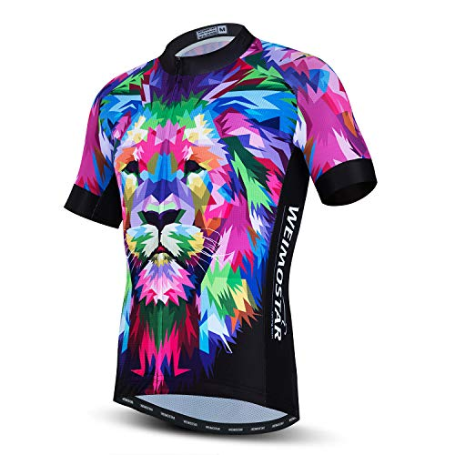 Cycling Jersey for Men Tops Summer Racing Cycling Clothing Purple