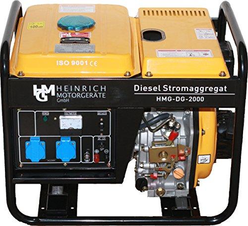 Diesel Stromerzeuger HMG-DG-2000 Stromaggregat Notstromaggregat