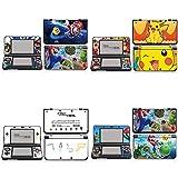 BLOUR Estilo de Color para New Nintendo 3DS New3DS N3DS Skin Cover Sticker Vinyl Decal