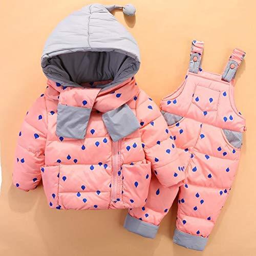 xuzheng Baby Jungen Winter Schneeanzug Kinder Daunenjacke Overalls Schneeanzug 1-4 Jahre Kinder Mädchen Mantel Kleidung Set Säuglingsanzug