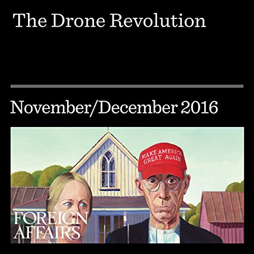 The Drone Revolution audiobook cover art