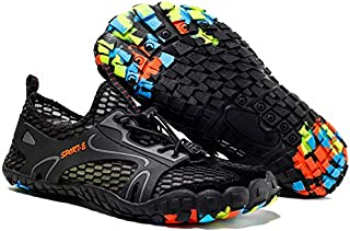 PAGE ONE Mens Womens Quick Dry Beach Water Shoes Aqua Surf Sports Socks Barefoot Soft Comfortable Cool Air
