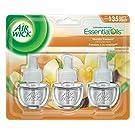 Air Wick Plug In Scented Oil , Vanilla Passion, 3 Refills, air freshener
