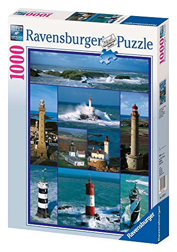 Ravensburger 15351 - Leuchttürme in der Bretagne - 1000 Teile Puzzle