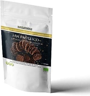 comprar comparacion NATURSEED - Harina de Pan Proteico de Semillas de Calabaza Ecologico - 2,6gr de hidratos y 22% de proteinas - Apto para Di...