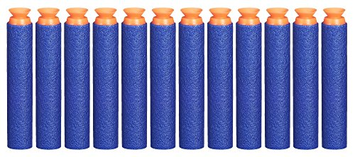 Nerf Suction Darts 12-Pack Refill for Elite Blasters -- Official Elite Suction Darts -- for Kids, Teens, Adults