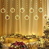 Cortina De Luces Led,Led Holiday Light Led Holiday Light, Lámpara De Decoración Navideña, Decoración De La Habitación Guirnalda Decoración De Año Nuevo Luces De Cadena