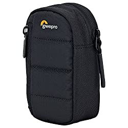 VERSATILE: Fits all today's most popular ultra-compact cameras EXTRA SPACE: The zippered front pocket holds spare memory card and/or batteries PROTECTION: The foam padding safeguards camera from impact, while the sturdy nylon exterior resists abrasio...