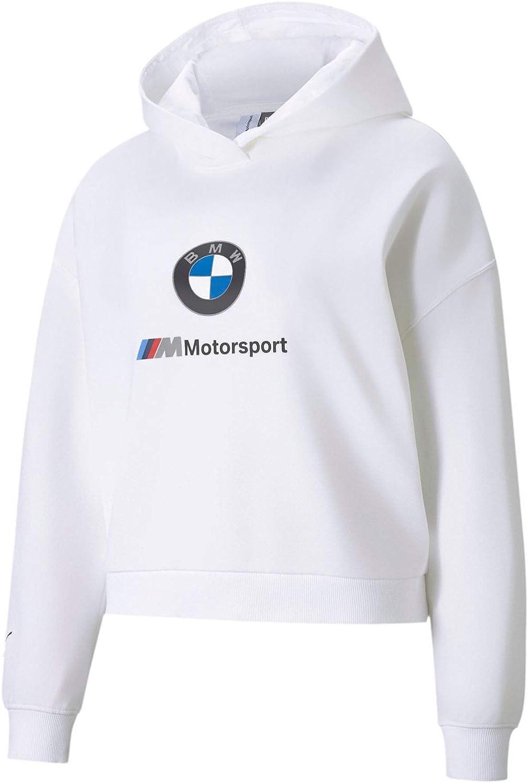 PUMA - Womens BMW MMS Ess Logo Tr Hoodie