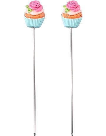Case/&Cover 1 Pc in Acciaio Inox Riutilizzabili Torta Tester Cottura Tester Stick Sonda per Home Bakery