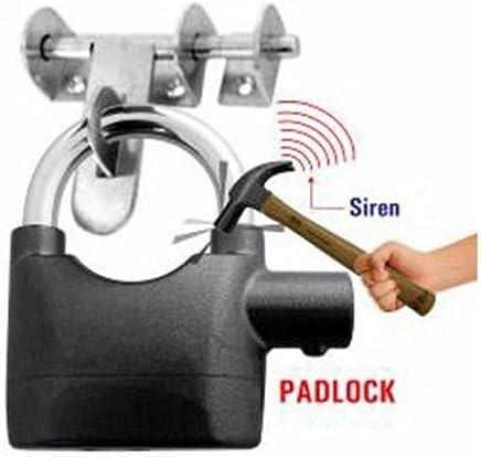 Krevia Anti Theft Motion Sensor Alarm Lock for Home, Office and Bikes