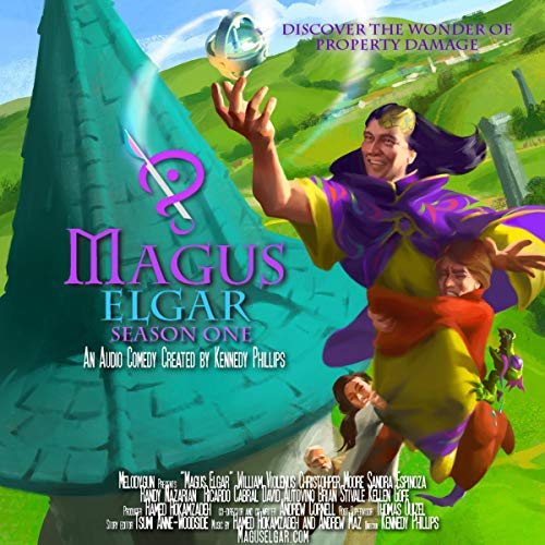 Magus Elgar: Season One audiobook cover art