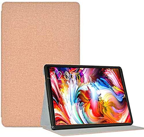 YHFZR Hülle für BENEVE Tablet 10 Zoll, Ultra Schlank Schutzhülle Etui mit Standfunktion Smart Hülle Cover für BENEVE Tablet 10 Zoll, Gold