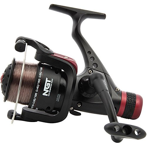 NGT CKR50 Coarse Fishing Reel with 8lb Line, Bl