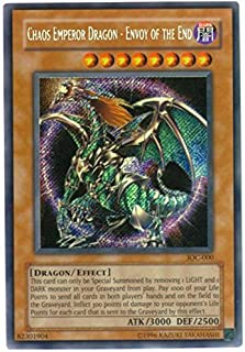 Yu-Gi-Oh! - Chaos Emperor Dragon - Envoy of the End (IOC-000) - Invasion of Chaos - Unlimited Edition - Secret Rare