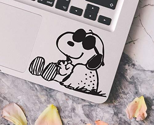 myrockshirt Comic Hund mit Sonnenbrille chillen Sonnen Snoopy Aufkleber,Sticker,Decal,Autoaufkleber,UV&Waschanlagenfest,Profi-Qualität