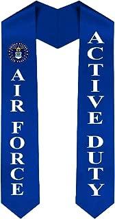 US Air Force Graduation Sash Stole - Active Duty