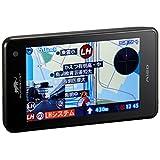 ユピテル フルマップレーダー探知機 A120 GPSデータ13万6千件以上 小型オービスレーダー波受信 OBD2接続 GPS/一体型/フルマップ表示/リモコン付属
