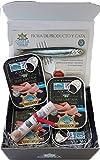 Geschenkbox mit 12 Dosen Sardelle Codesa Limited Serie 1/6 Lin 55 Gramm -