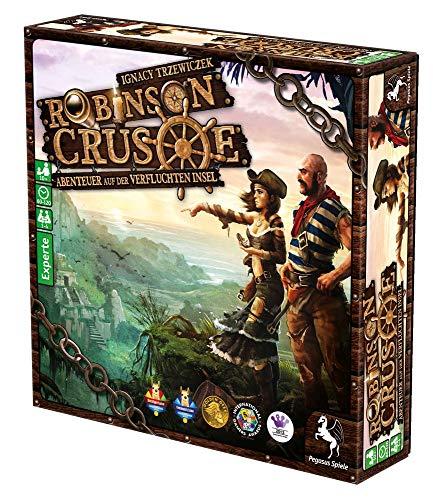 Robinson Crusoe - Grundspiel - Brettspiel   DEUTSCH   Abenteuer-Spiel Kooperativ