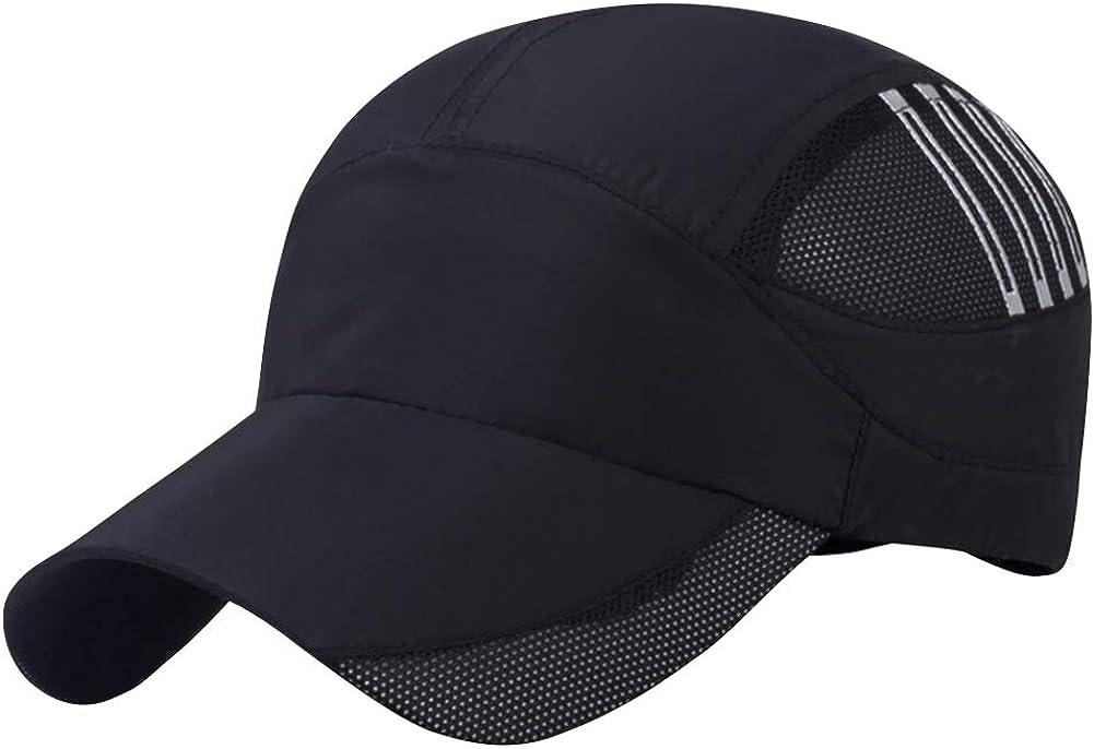 AIEOE Gorra de secado rápido, gorra de verano, transpirable, para deportes al aire libre, para senderismo, montañismo, correr, ciclismo, etc.