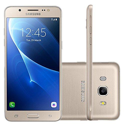 Samsung - Smartphone Galaxy J5 Metal Duos J510M, Tela 5.2'', 16GB, Dourado