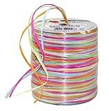 C.E. Pattberg Biodegradable Ribbon, Pink-Yellow, 50 meter spool