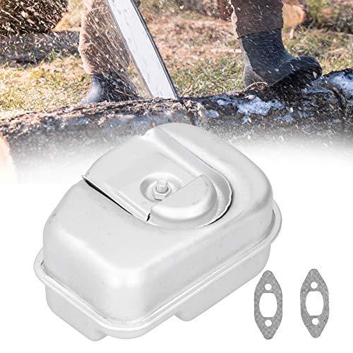 LZKW Escape de silenciador, Accesorio de Motosierra de instalación Sencilla para Motosierra de jardín para Husqvarna 235236240 235E 240E