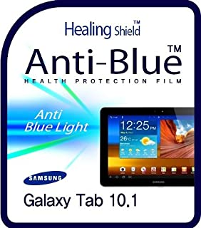 Healingshield Screen Protector Eye Protection Anti UV Blue Ray Film Compatible for Samsung Tablet Galaxy Tab 10.1 [Front 1pc]