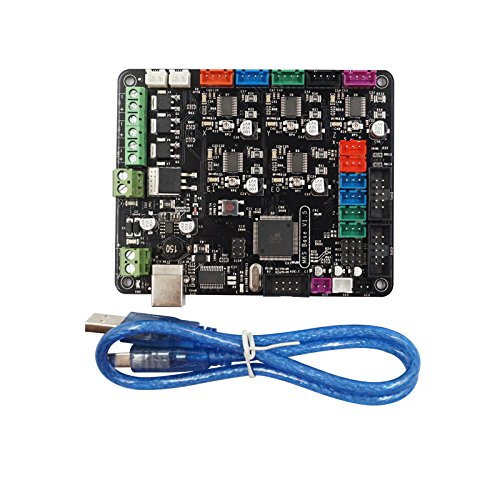 TWP MKS Base V1.5 Scheda di Controllo Stampante 3D Con USB Mega 2560 R3 Scheda Madre RepRap Ramps1.4 Compatibile Con Prusa i3 Stampante 3D