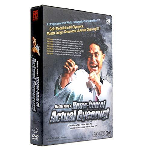 MOOTO Korea Taekwondo DVD Title Master Jung s Knowhow of Actual Gyeorugi MMA TKD Martial Arts Judo Karate Kickboxing Match Gym Academy School