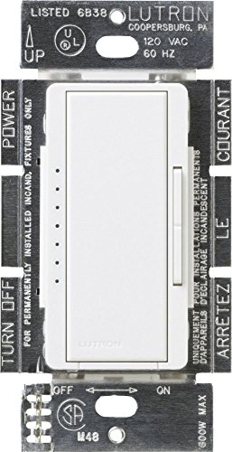 Lutron MACL-153M-WH 2 Pack 150W Maestro Multi-Location CFL/LED Digital Dimmer, White