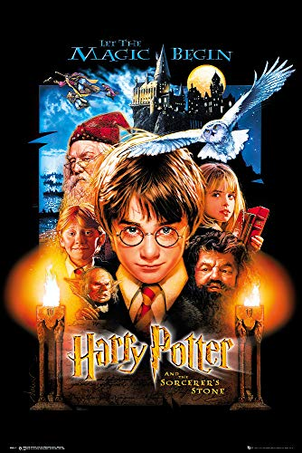 Harry Potter and the Sorcerer's Stone - Movie Poster / Print (US Regular Style) (Size: 24 inches x 36 inches)