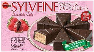 ブルボン シルベーヌいちご×チョコレート 6個 ×5個
