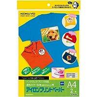 コクヨ IJP用アイロンプリントペーパー A4 2枚×3