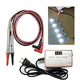 tester per luci a led e retroilluminazione tv, strumento di prova per la riparazione di perline di lampade a led con tensione di corrente regolabile per tutte le riparazioni di luci a led