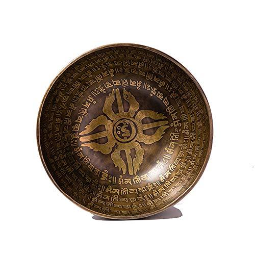 shixiaodan Tibetanos Cuenco Cantores,Cuencos Metal Curativo Promueve La Paz,excelente Curación por Resonancia Y Meditación La Curación De Chakras Y La Atención Plena