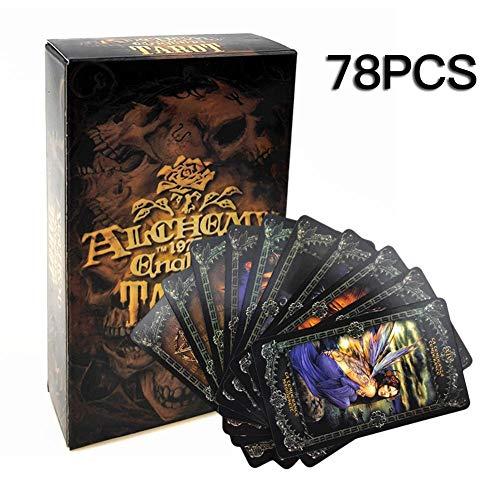 78PCS Der ultimative Leitfaden für Tarot: Ein Anfängerleitfaden für die Karten, Spreads und Enthüllung des Geheimnisses des Tarot Tarotkarten Deck und Manifest