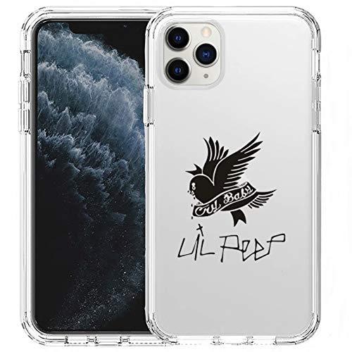 SXTQFDC Lil Peep Phone Case Hip Hop Rapper Design Phone Cover for iPhone 8/Xr/11ProMax