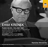 Ernest Krenek: Piano Music, Vol. 1 by Stanislav Khristenko