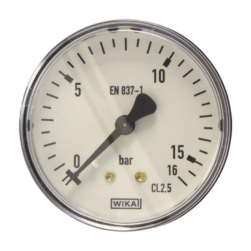 Manometer, NG63, 0-16 bar - WIKA 111.12 - 9083960