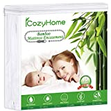 Premium Zippered Encasement, Twin Waterproof Mattress Protector, Hypoallergenic Noiseless Breathable, Safe Sleep for Adults and Kids,Vinyl Free