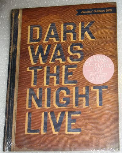 Dark Was the Night Live Urban Outfitters Exclusive DVD David Byrne Bon Iver